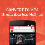 Descargar MP3 con Snaptube