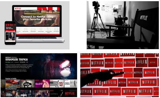 características de Netflix para iPad