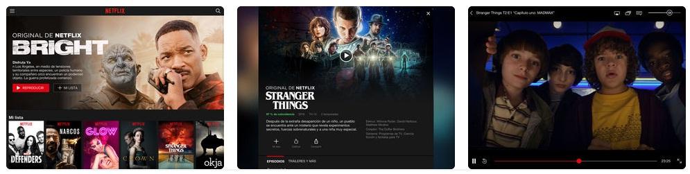 descargar Netflix para iPad
