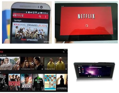 Descargar Netflix para tablet Android