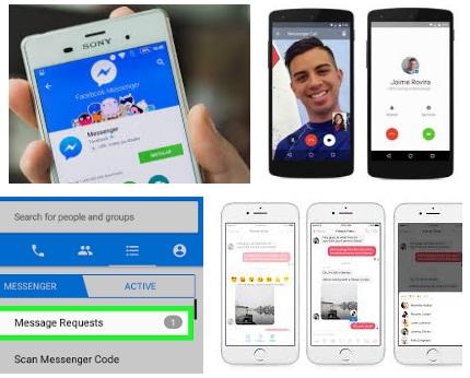 características de Facebook Messenger para Android