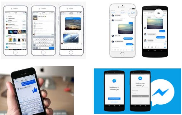 características de Facebook Messenger para iPhone