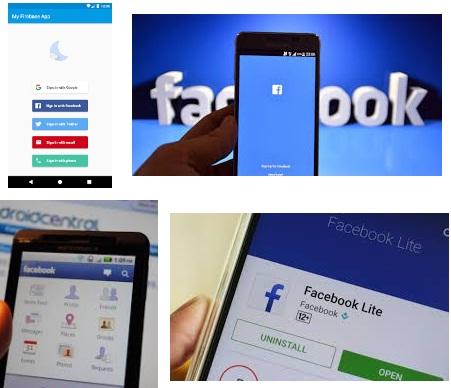 características de Facebook para Android
