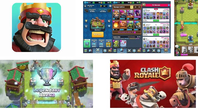 Características de Clash Royale para Android