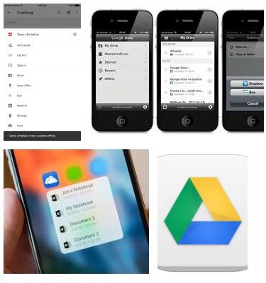 Características de Google Drive para iPhone