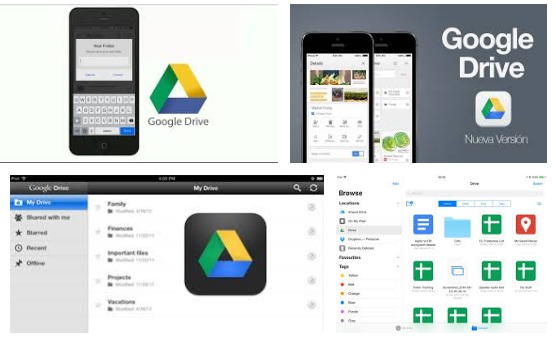 Descargar Google Drive para iPhone