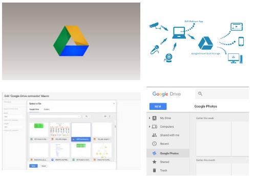 Características de Google Drive para tablet Android