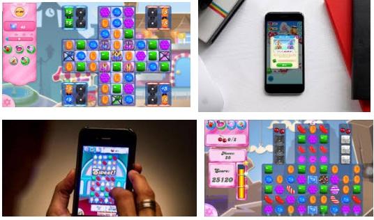 características de Candy Crush para iPhone