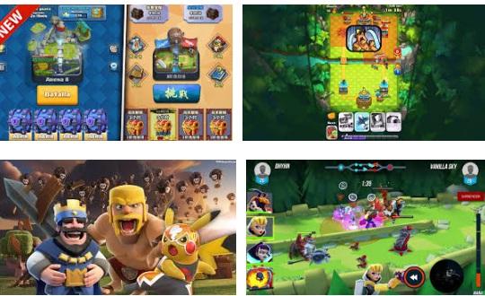 características de Clash Royale para iPad