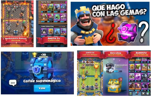características de Clash Royale para iPhone