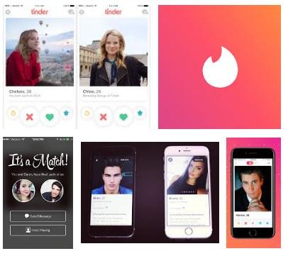 características de Tinder para iPhone