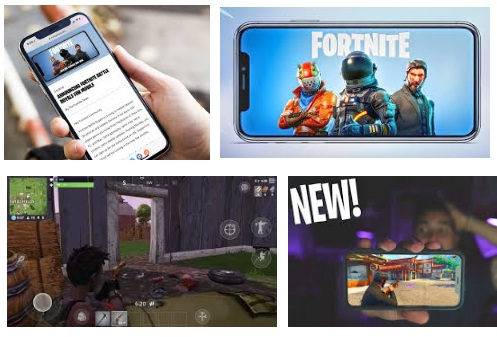 características de Fortnite Battle Royale para iPhone