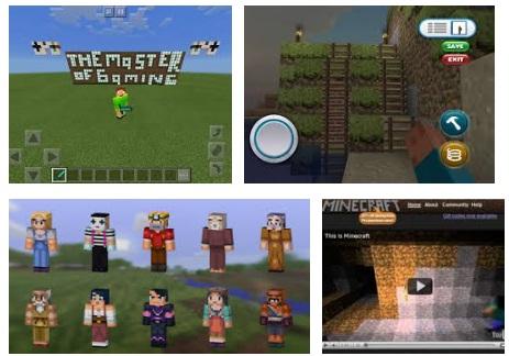 características de Minecraft para iPad