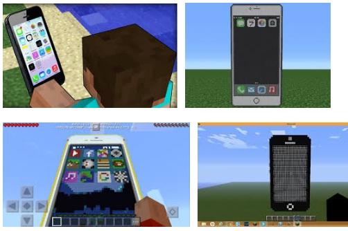 características de Minecraft para iPhone