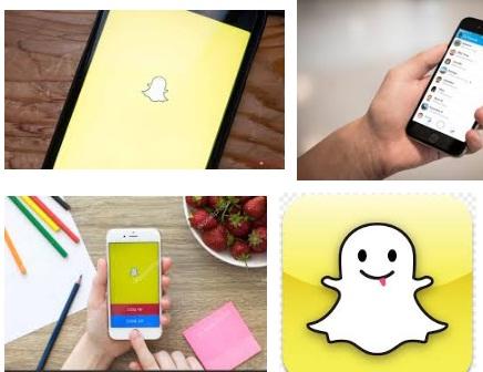 características de Snapchat para iPhone