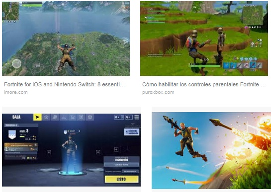 características de Fortnite Battle Royale para iPad