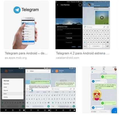 descargar Telegram para Android