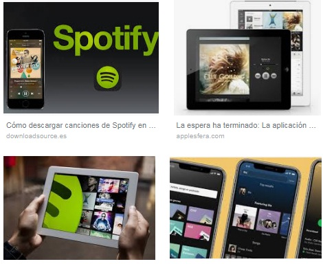 Descargar Spotify para iPad