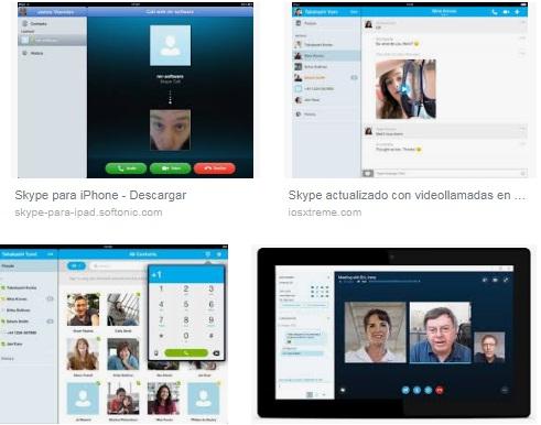 descargar Skype para iPad