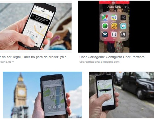 Características de Uber para iPhone