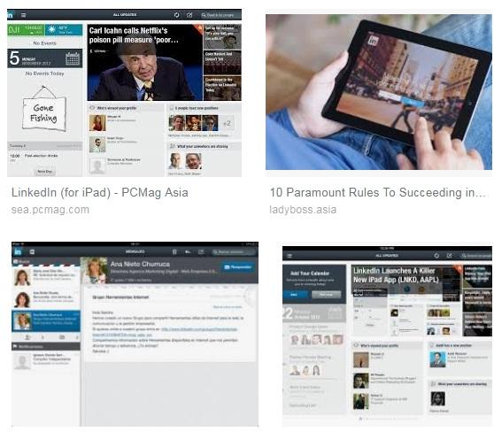 Descargar Linkedin para iPad