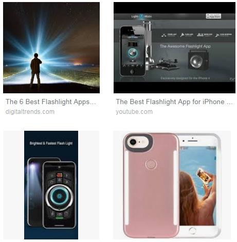 Características de Linterna para iPhone