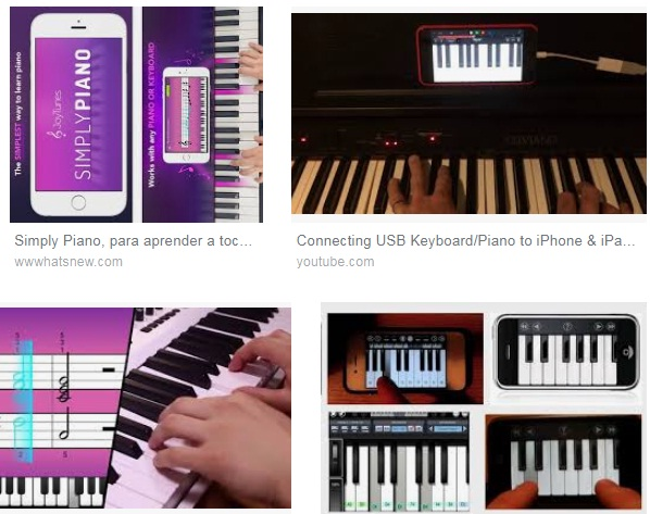 Características de Piano para iPhone