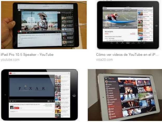 descargar Youtube para iPad