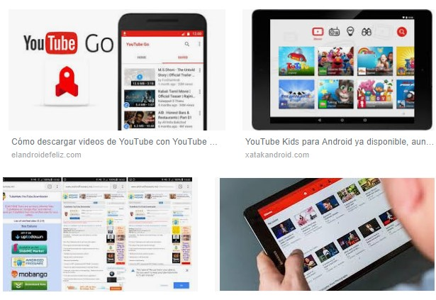 descargar youtube para tablet android