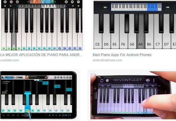 descargar piano para tablet android