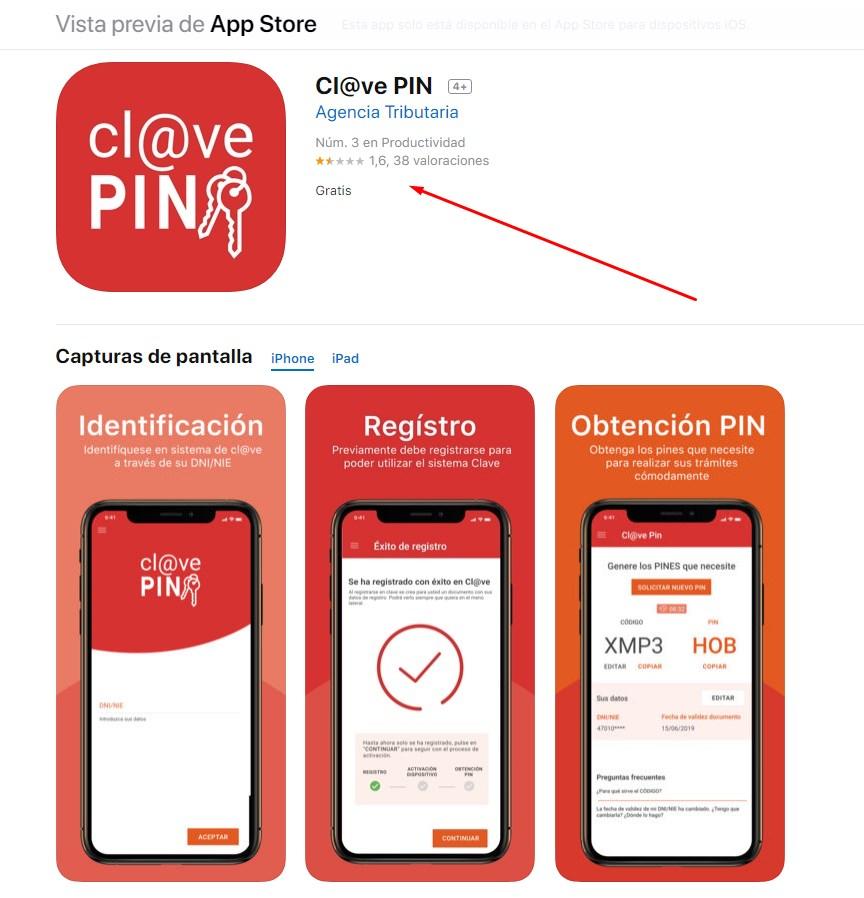 Cl@ve PIN