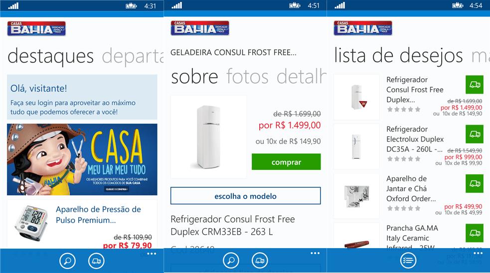 Casas Bahía